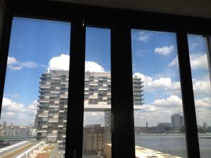 Köln Kranhäuser - Multirollo® - Die Sonnenbrille für das Bürogebäude